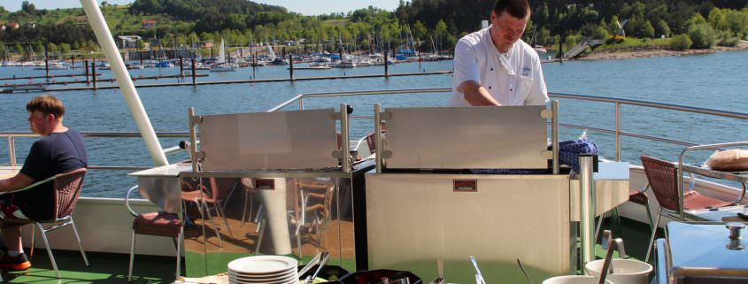 Grill and Chill auf dem Sonnendeck